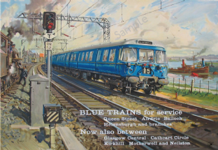 Blue Train Service - Scotland